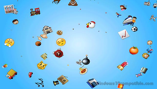 Emoji Rain Screensaver 1 0 Free download